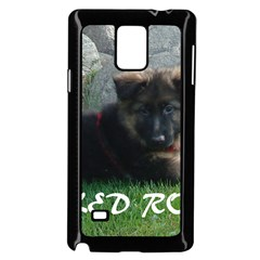Spoiled Rotten German Shepherd Samsung Galaxy Note 4 Case (Black)