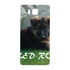 Spoiled Rotten German Shepherd Samsung Galaxy Alpha Hardshell Back Case