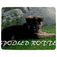 Spoiled Rotten German Shepherd Jigsaw Puzzle Photo Stand (Rectangular)