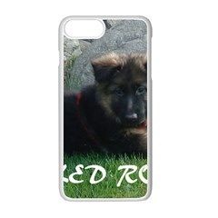 Spoiled Rotten German Shepherd Apple iPhone 7 Plus White Seamless Case