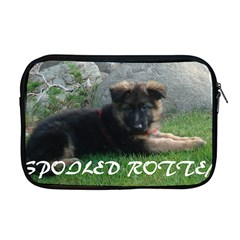 Spoiled Rotten German Shepherd Apple MacBook Pro 17  Zipper Case