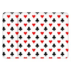 Curly Heart Card Red Black Gambling Game Player Samsung Galaxy Tab 8.9  P7300 Flip Case