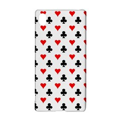 Curly Heart Card Red Black Gambling Game Player Sony Xperia Z3+