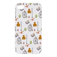 Circus Bicycle Wheel Apple iPhone 4/4S Hardshell Case