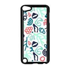 Coral Leaf Flower Sea Apple Ipod Touch 5 Case (black)