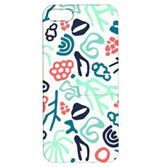 Coral Leaf Flower Sea Apple iPhone 5 Hardshell Case with Stand