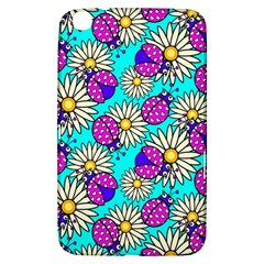 Bunga Matahari Serangga Flower Floral Animals Purple Yellow Blue Pink Samsung Galaxy Tab 3 (8 ) T3100 Hardshell Case