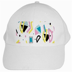 Design Elements Illustrator Elements Vasare Creative Scribble Blobs Yellow Pink Blue White Cap