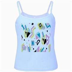 Design Elements Illustrator Elements Vasare Creative Scribble Blobs Yellow Pink Blue Baby Blue Spaghetti Tank