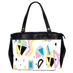 Design Elements Illustrator Elements Vasare Creative Scribble Blobs Yellow Pink Blue Office Handbags (2 Sides)