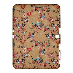 Deer Cerry Animals Flower Floral Leaf Fruit Brown Samsung Galaxy Tab 4 (10.1 ) Hardshell Case