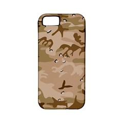 Desert Camo Gulf War Style Grey Brown Army Apple iPhone 5 Classic Hardshell Case (PC+Silicone)