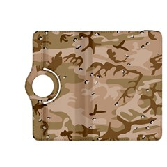 Desert Camo Gulf War Style Grey Brown Army Kindle Fire HDX 8.9  Flip 360 Case