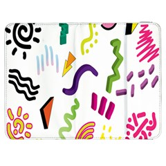 Design Elements Illustrator Elements Vasare Creative Scribble Blobs Samsung Galaxy Tab 7  P1000 Flip Case