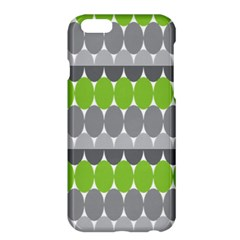Egg Wave Chevron Green Grey Apple iPhone 6 Plus/6S Plus Hardshell Case