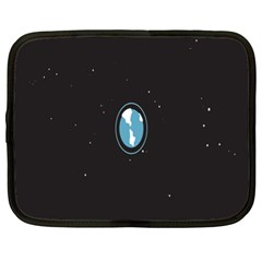 Earth Universe Natural Space Galaxy Netbook Case (XL)