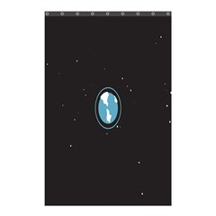 Earth Universe Natural Space Galaxy Shower Curtain 48  x 72  (Small)