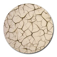 Drought Soil Land Round Mousepads