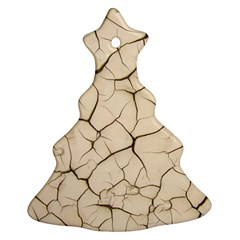 Drought Soil Land Christmas Tree Ornament (Two Sides)