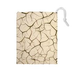 Drought Soil Land Drawstring Pouches (Large)