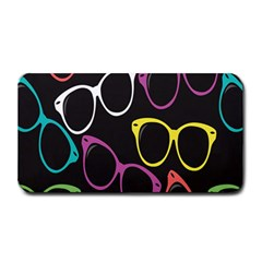 Glasses Color Pink Mpurple Green Yellow Blue Rainbow Black Medium Bar Mats