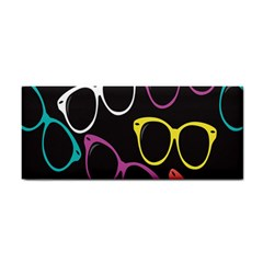 Glasses Color Pink Mpurple Green Yellow Blue Rainbow Black Cosmetic Storage Cases
