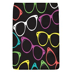 Glasses Color Pink Mpurple Green Yellow Blue Rainbow Black Flap Covers (L)