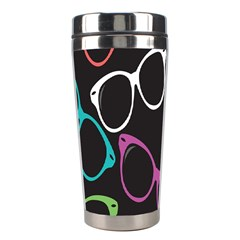 Glasses Color Pink Mpurple Green Yellow Blue Rainbow Black Stainless Steel Travel Tumblers