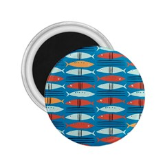 Go Fish  Fishing Animals Sea Water Beach Red Blue Orange Grey 2 25  Magnets