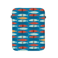 Go Fish  Fishing Animals Sea Water Beach Red Blue Orange Grey Apple iPad 2/3/4 Protective Soft Cases