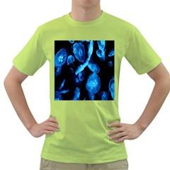 Jellyfish Sea Beack Water Blue Green T-Shirt