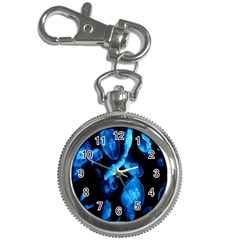 Jellyfish Sea Beack Water Blue Key Chain Watches