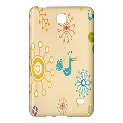 Kids Bird Sun Flower Floral Leaf Animals Color Rainbow Samsung Galaxy Tab 4 (8 ) Hardshell Case