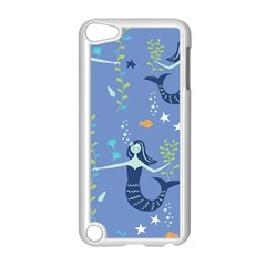 Little Mermaid Star Fish Sea Water Apple iPod Touch 5 Case (White)