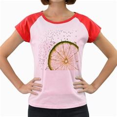 Lime Women s Cap Sleeve T Shirt