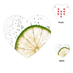 Lime Playing Cards (Heart)