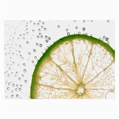 Lime Large Glasses Cloth