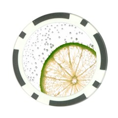 Lime Poker Chip Card Guard (10 pack)