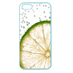 Lime Apple Seamless iPhone 5 Case (Color)