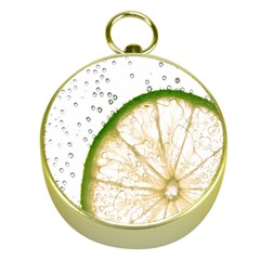 Lime Gold Compasses