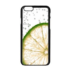 Lime Apple iPhone 6/6S Black Enamel Case