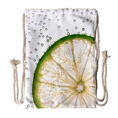 Lime Drawstring Bag (Large)