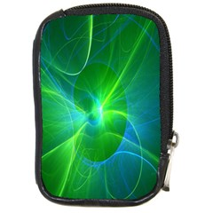 Line Green Light Compact Camera Cases