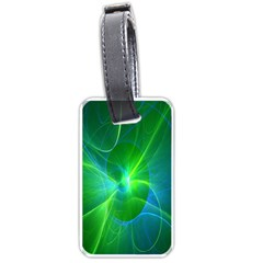 Line Green Light Luggage Tags (Two Sides)