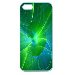 Line Green Light Apple Seamless iPhone 5 Case (Color)