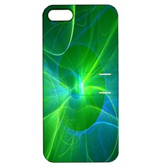 Line Green Light Apple iPhone 5 Hardshell Case with Stand