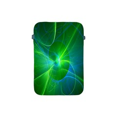 Line Green Light Apple iPad Mini Protective Soft Cases