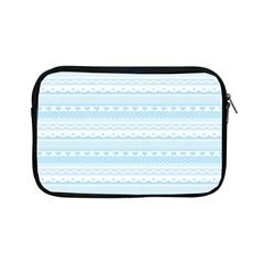 Love Heart Valentine Blue Star Woven Wave Fabric Chevron Apple iPad Mini Zipper Cases