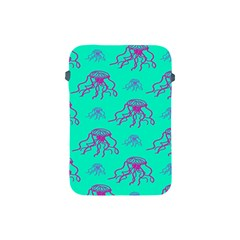 Jellyfish Pink Green Blue Tentacel Apple iPad Mini Protective Soft Cases