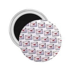 Love Note Custom Letter Heart Valentine 2 25  Magnets